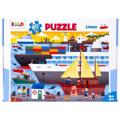 80 Parça Yer Puzzle – Liman